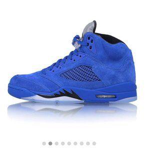 Blue Suede Air Jordans